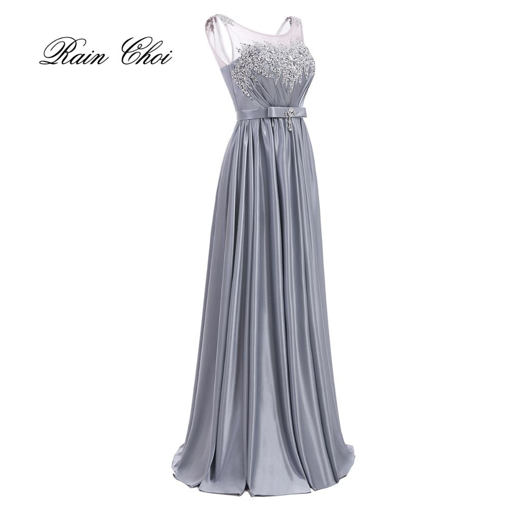 On Sale 2017 Sexy Floor Length Elegant Long Prom Gown Long Vintage Formal Evening dresses