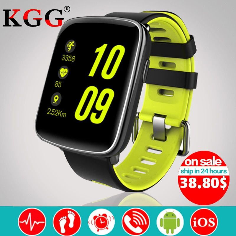 GV68 Smart Watch Men Women Waterproof MTK2502 Smart Watch Smart Band Wearable device Heart Rate Sleep Monitor for IOS Android
