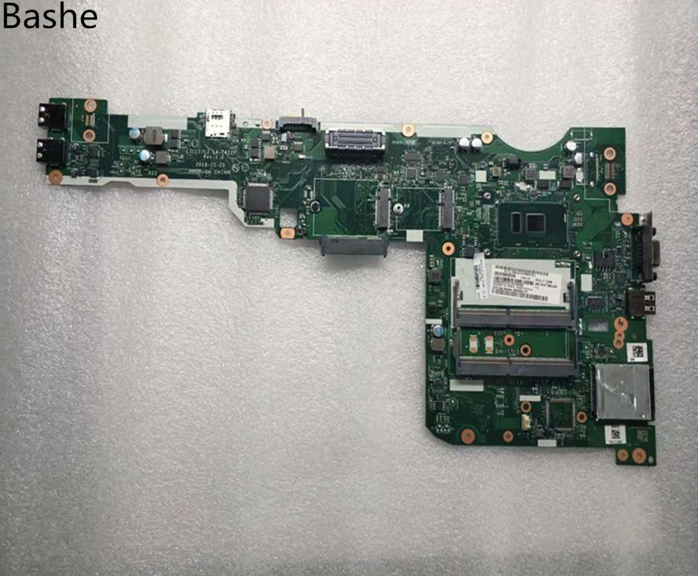 for Lenovo Thinkpad L560 Laptop Motherboard With SR2EY SR2F0 I5-6200U I5-6300U LA-C421P Full Tested Free Shipping