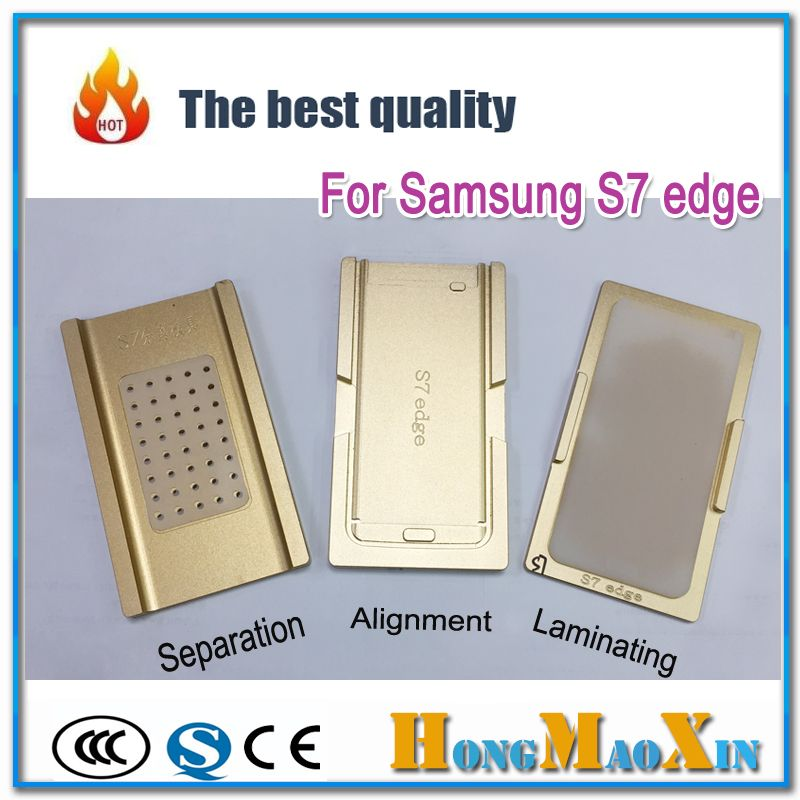 3pcs/Set G9350 G9280 G9500 G9550 LCD Touch Screen Alignment/OCA laminating/Separator Mould for Samsung S6 S7 S8 Note 4 Edge Plus