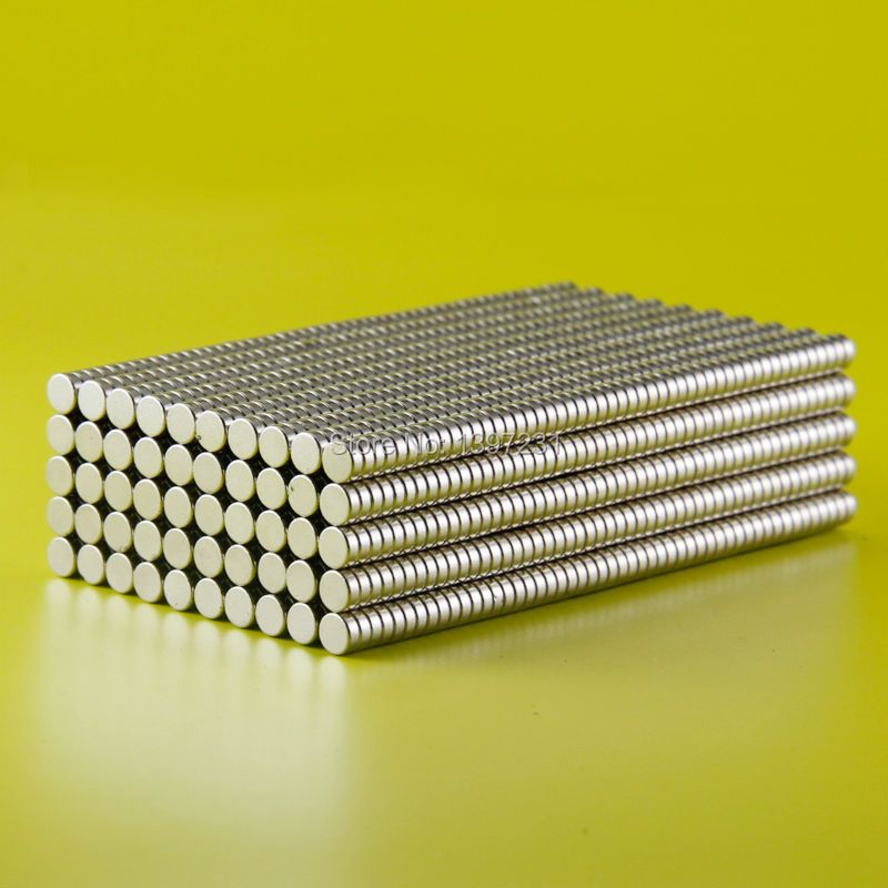 Free shipping wholesale 100pcs 4x1.5mm n50 rare earth magnets strong neodymium disc magnet