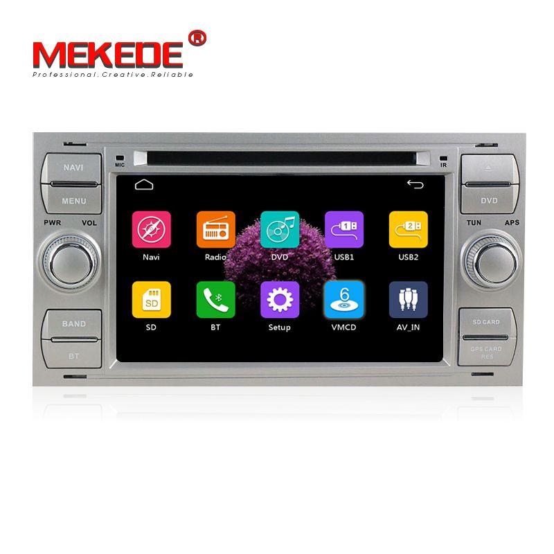 Free Shipping Car DVD GPS navi Player For Transit/Galaxy/Focus/Mondeo/Fiesta/C-max/S-max/Kuga/Connector 7'' capacitve screen