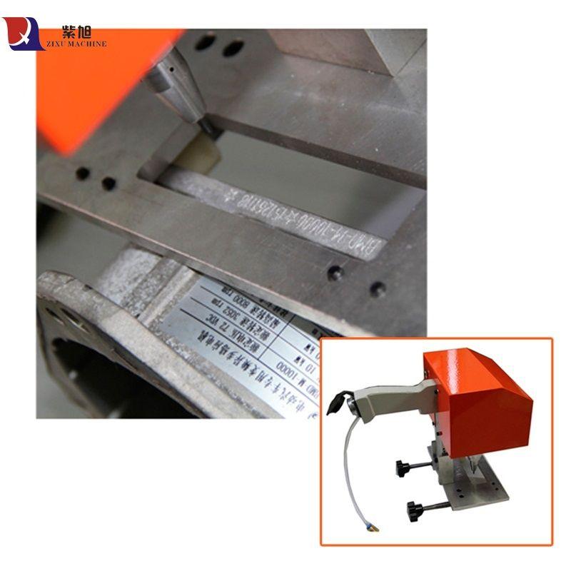 Tragbare Mini Hand Cnc Stecher Daten Matrix Kennzeichnung Maschine Pneumatische Flansch Kennzeichnung Maschine