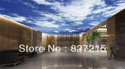 MO-0193/Blue Sky/impresión de azulejos de techo/PVC estirada Películas/inicio o techo Decoración /función como panel de techo