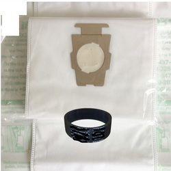 6 шт. совок 1 * ремень Кирби универсальный мешок подходит для Кирби Универсальный Hepa ткань микрофибры пылезащитные сумки для Кирби Sentrial F/T