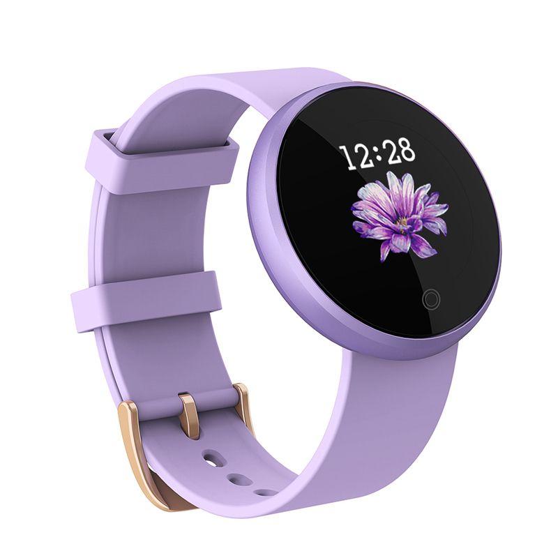 SKMEI B36 Frauen Neue Smart 12 sprachen Digitale Uhr Weibliche Russische Erinnerung Herz Rate Uhren Kalorien Schritt Schönheit Armbanduhr