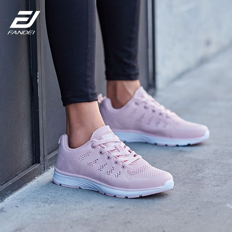 FANDEI Winter Running Shoes Women Sneakers Women Men Outdoor Sport Shoes Woman Chaussures Femme Fapatillas Mujer Deportiva PE