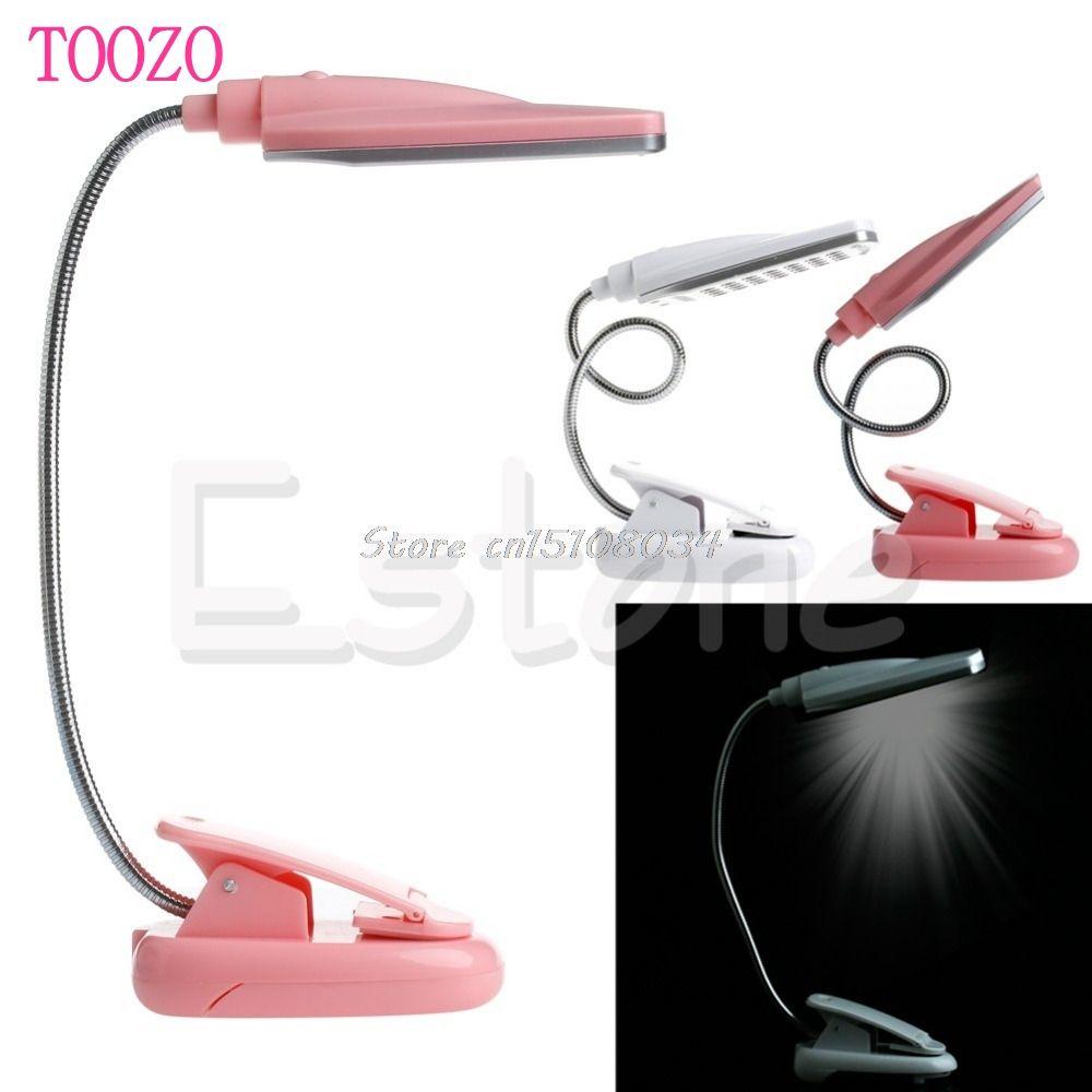 Neue Flexible USB 28 LED-Licht Clip On Bed Tisch Schreibtisch Leselampe S08 Drop ship