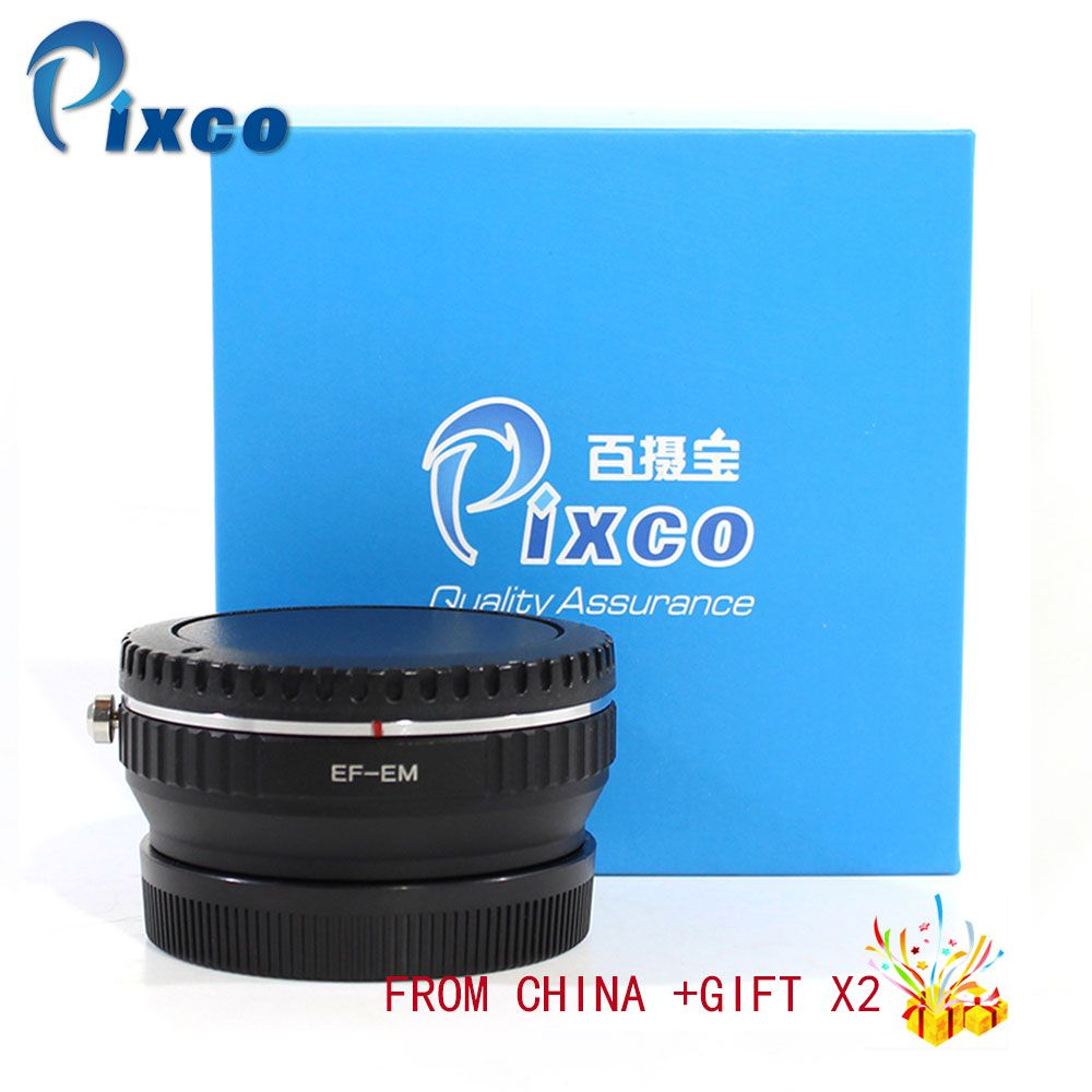 Pixco For EF-for EOS M Focal Reducer Speed Booster Turbo Adapter suit For Canon EF Lens to for Canon EOS M M6 M5 M10 M3 M2 M