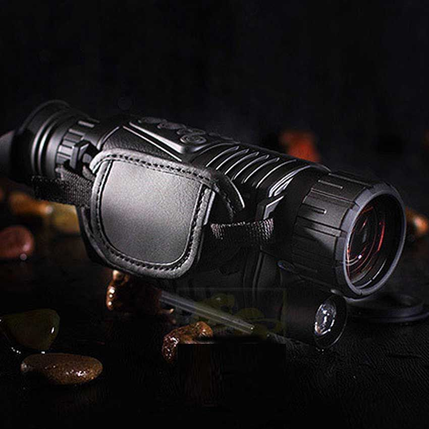 Best Digital Night Vision Monocular IR Wildlife 5x40mm 5MP HD Camera Hunting Infrared 850NM Night Vision Telescope