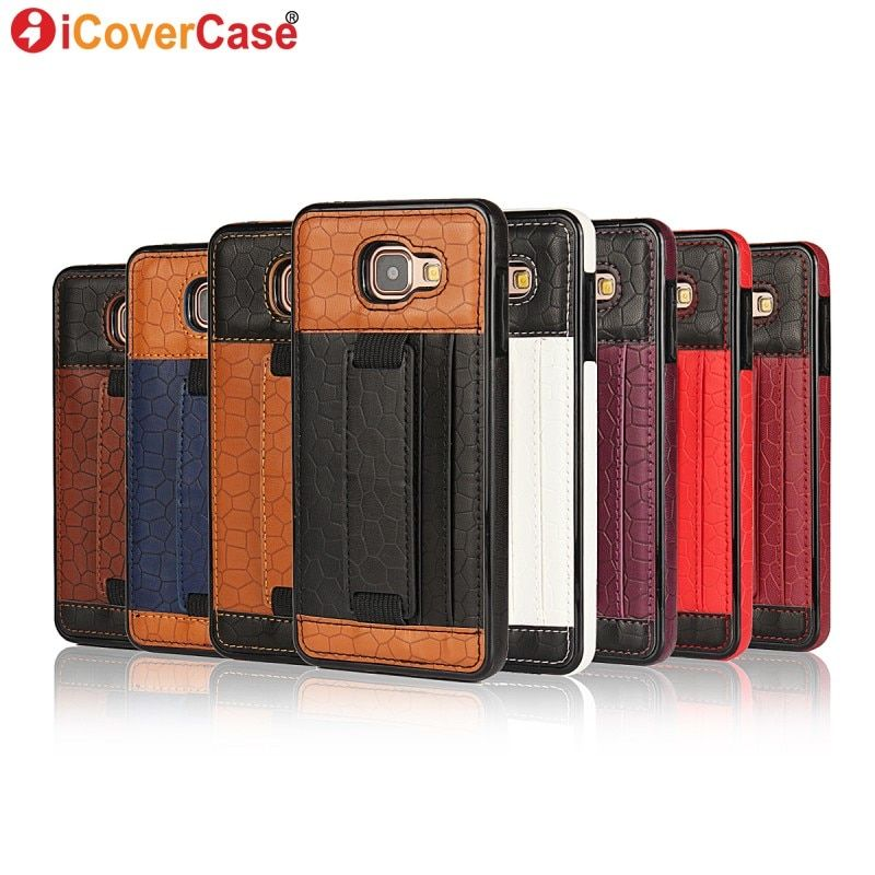 Case for Samsung Galaxy A5 2016 A510F Back Leather Cover for Samsung A3 2016 Case A310F Coque Fundas Capa Hoesje Stand Hand Bag
