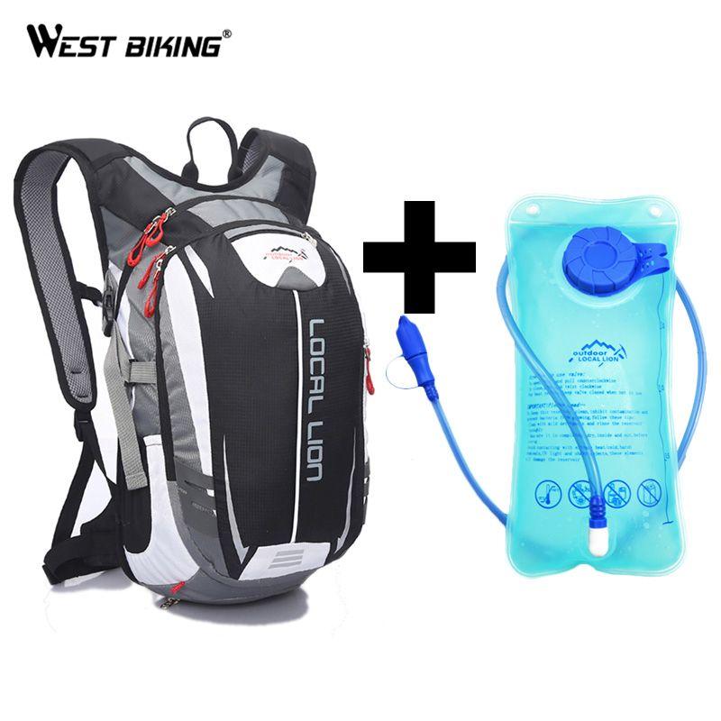 LOCAL LION 18L Soprt Bag+ 2L TPU Water Bag Backpack Bag Rucksack MTB Road Bike Bicycle Running Sport Hiking Bladder Backpacks