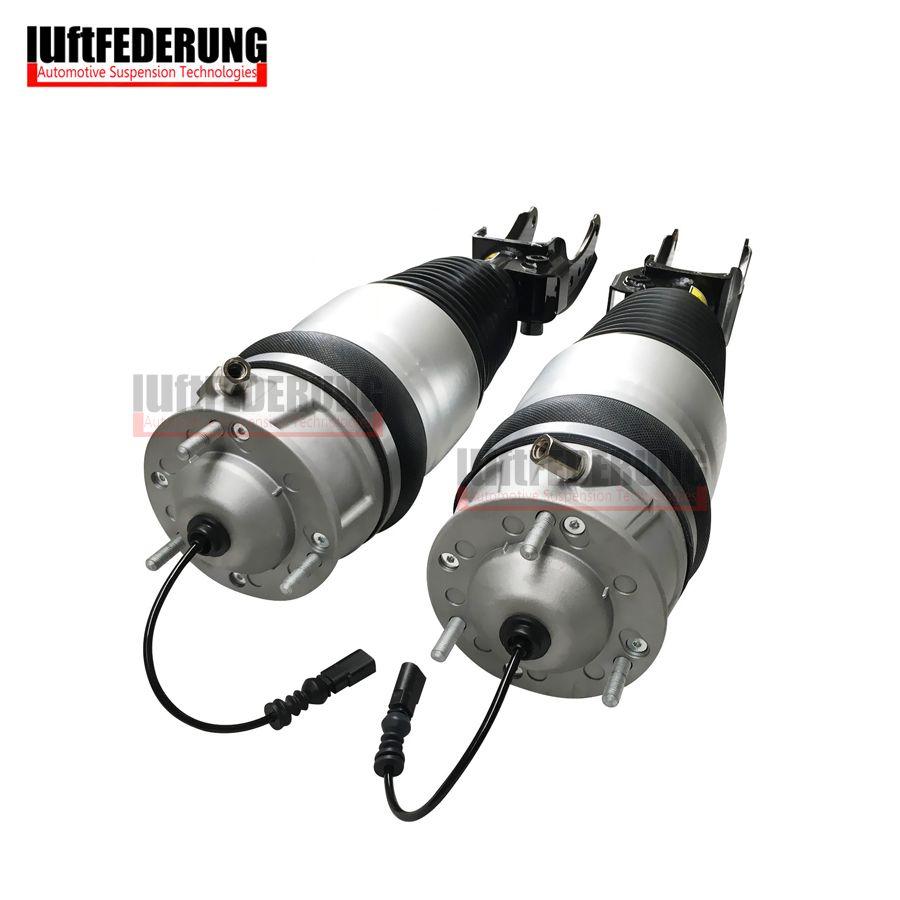 Luftfederung Neue 1 * Paar 2011-2013 Air Frühjahr Vorderachse Air Ride Fit Audi Q7 VW Touareg Cayenne 958 7P6616040N (39N)