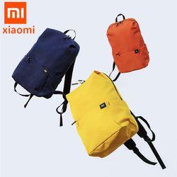 Asli Xiao Mi Mi Ransel 10L Tas 8 Warna 165G Urban Santai Olahraga Dada Bungkus Tas Pria Wanita Kecil ukuran Bahu Tas Uniseks