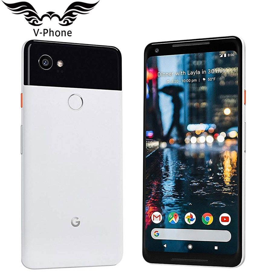 Original Brabd New US Version Google Pixel 2 XL 64GB 128GB Mobile Phone 6