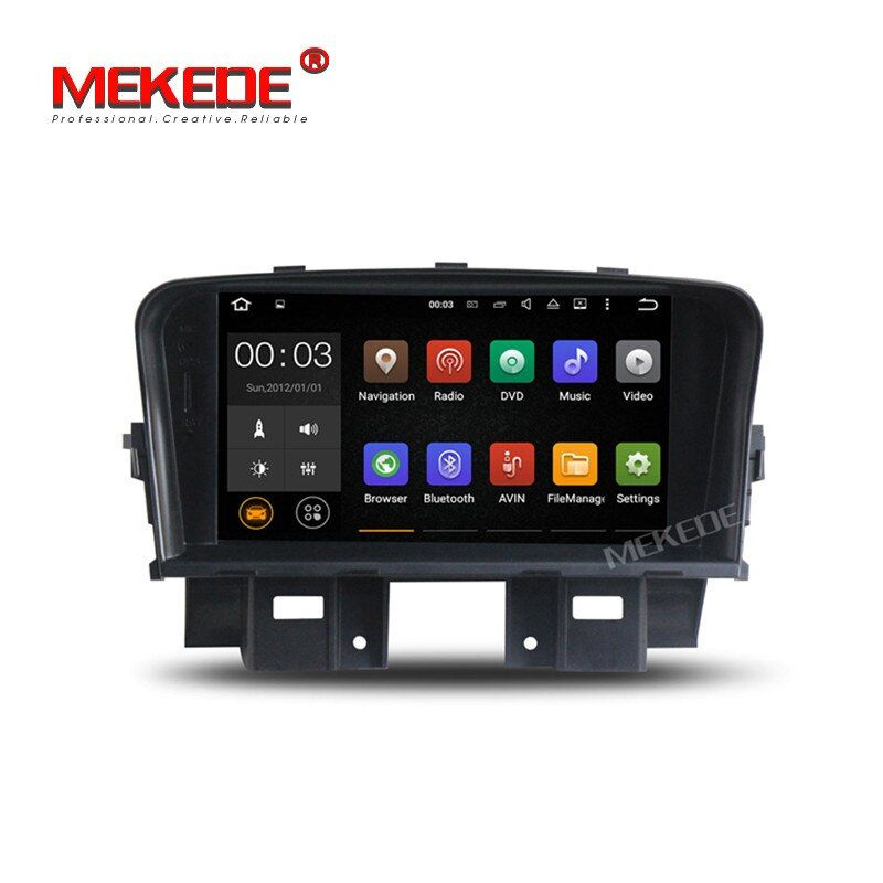 7inch 2din Android7.1 Car stereo head unit navigation GPS DVD player for Chevrolet Cruze 2008 2009 2010 2011 support 4G wifi BT