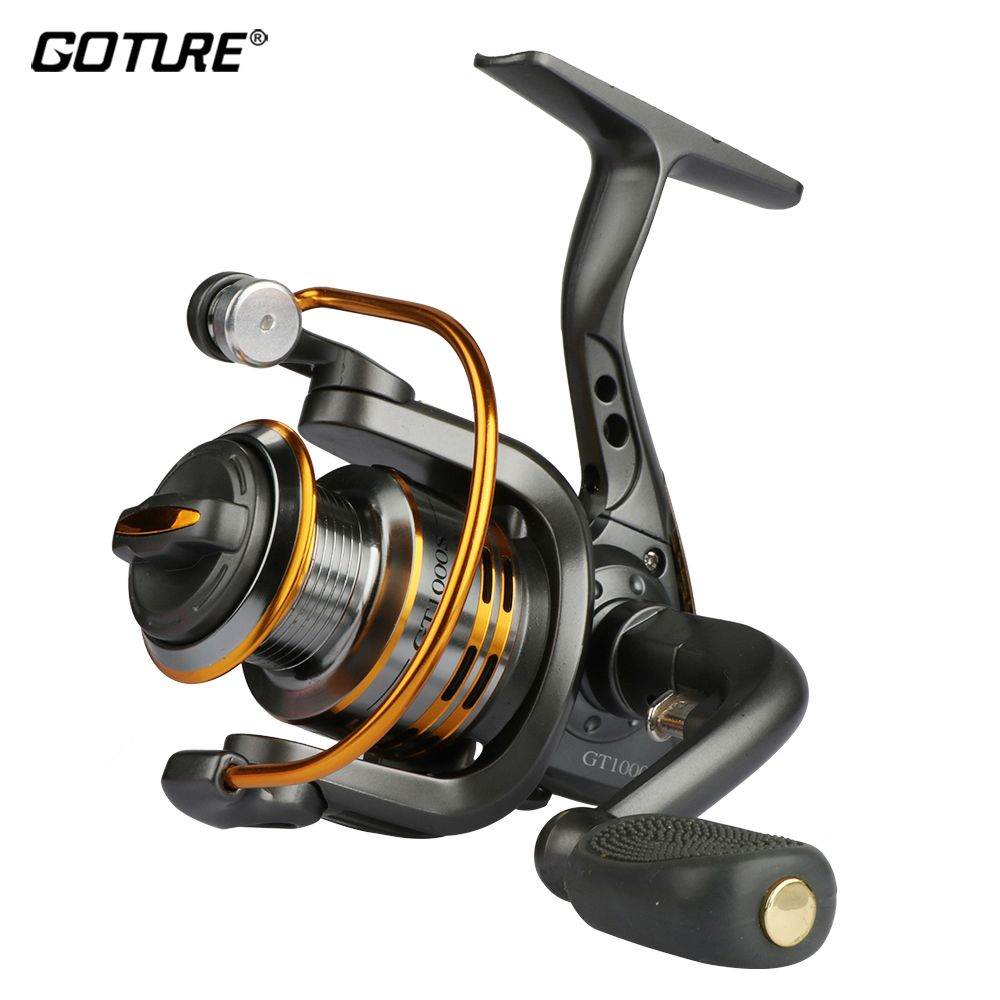 Goture Spinning Fishing Reel Metal Spool Coil 6BB For Freshwater Saltwater Fishing <font><b>Wheel</b></font> 500 1000 2000 3000 4000 5000 6000