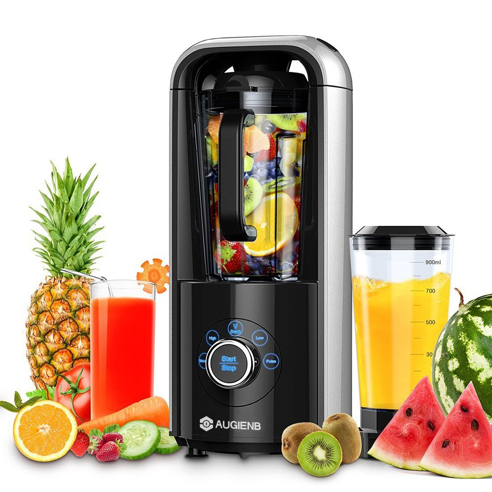 5 in 1 1.5L Vacuum High-speed Multi-element Juicer Multifunction Fruits Vegetables Blender Smoothie Mixer Citrus Juice Extractor