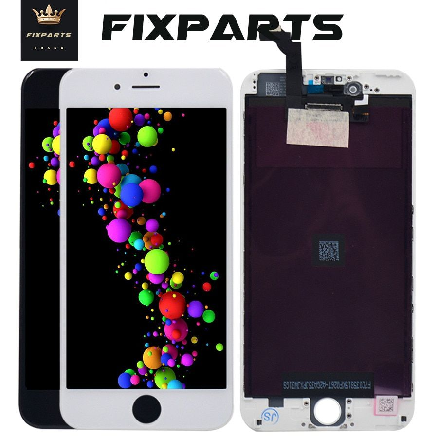 10 STÜCKE Keine Tote Pixel AAA Lcd-bildschirm Für iPhone 6 Plus Bildschirm-baugruppe Ersatz mit Digitizer Telefon Teile Für 5,5