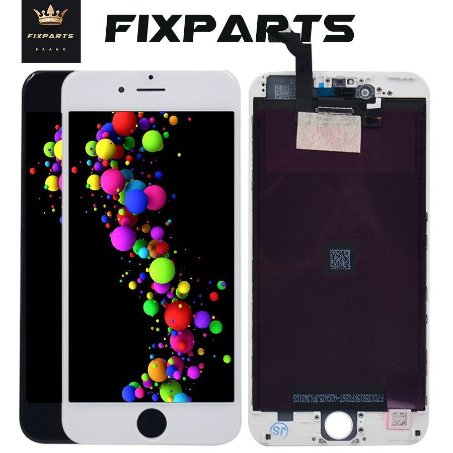 10PCS No Dead Pixel AAA LCD Screen For iPhone 6 Plus Display Assembly Replacement with Digitizer Phone Parts For 5.5