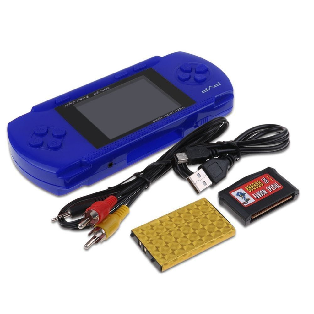 PVP 3000 Handheld Game Player Built-in 89 Games Portable Video Console 2.8'' LCD Handheld Player For Children Mini Video Console