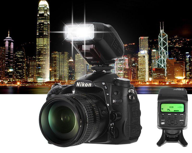 Viltrox JY-610NII Mini Caméra TTL LCD Flash Speedlite pour Nikon D700 D800 D810 D3100 D3200 D5200 D5300 D7000 D7200 DSLR