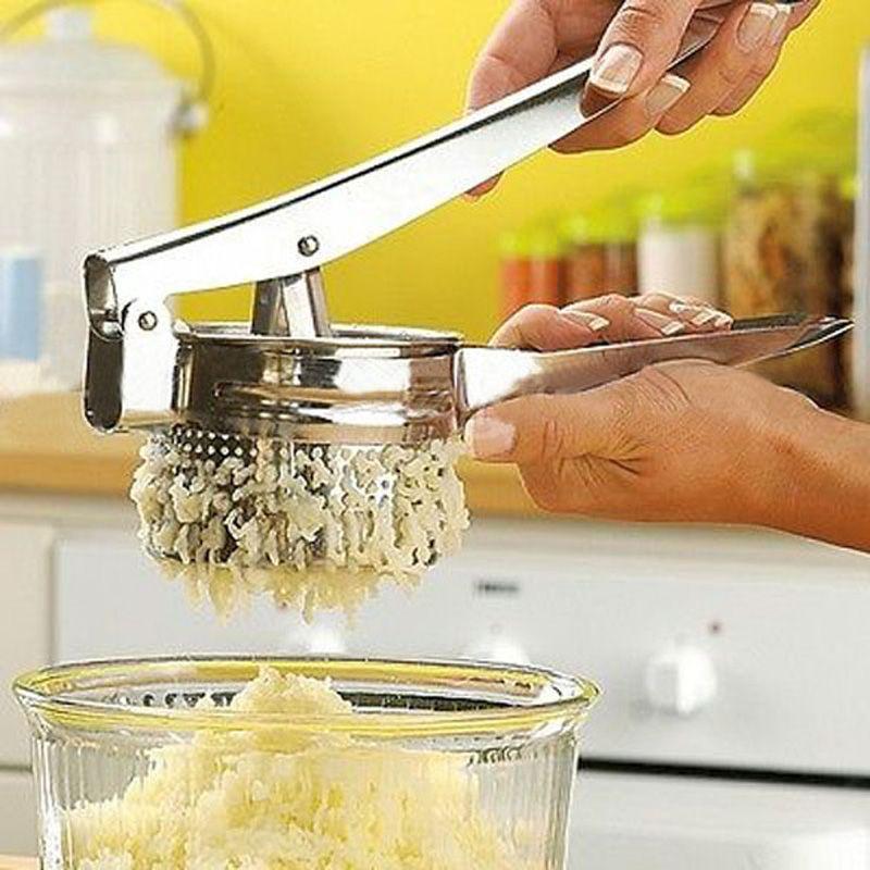 Acier inoxydable Presse-Purée Presse-Purée Grand Robuste Purée De Légumes Fruits Juicer Presse Maker Presse-Purée Cuisine Accessoires