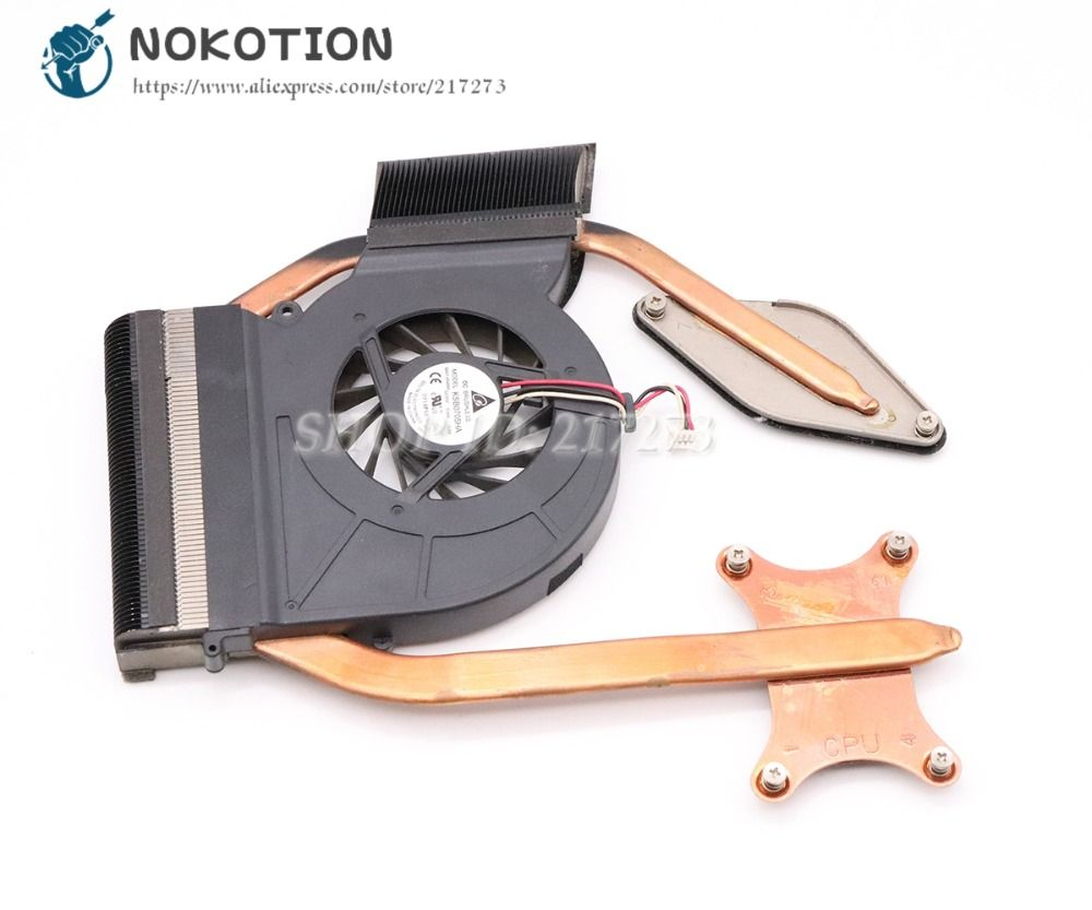 NOKOTION For Samsung NP-R530 R530 R580 R780 Laptop Cooling Fan Heatisink Fit for ATI graphics BA92-00501B 0M102706