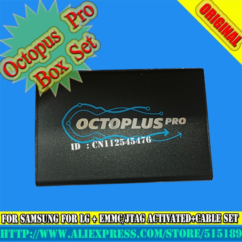 gsmjustoncct Octoplus pro Box for Samsung for LG + JTAG Activated with 19cables