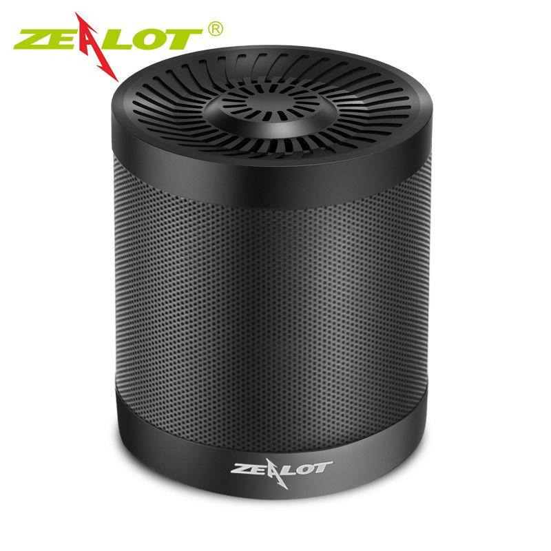 Zélot S5 Mini haut-parleur Portable Support Micro carte SD AUX extérieur sans fil Bluetooth 4.0 haut-parleurs actifs 3D boîte à musique caisson de basses