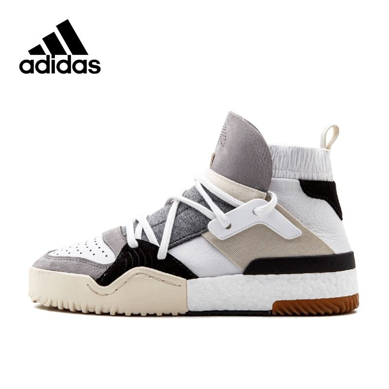 Original New Arrival Authentic Adidas x Alexander Wang Men's Hard-Wearing Skateboarding Shoes Sports Sneakers