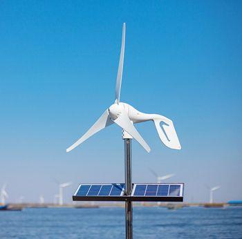 2018 Vente Chaude Vent Turbine 400 W Combiner Avec 600 W Vent Générateur Contrôleur avec CE RoHS Approbation, Fit pour La Maison ou Une Utilisation Marine