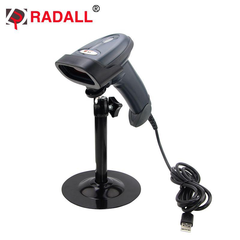 Бесплатная доставка! RD-1330 автоматический лазерный проводной код читателя Handfree plug and play Авто сканер штрих-кода с Колыбели для suermaket