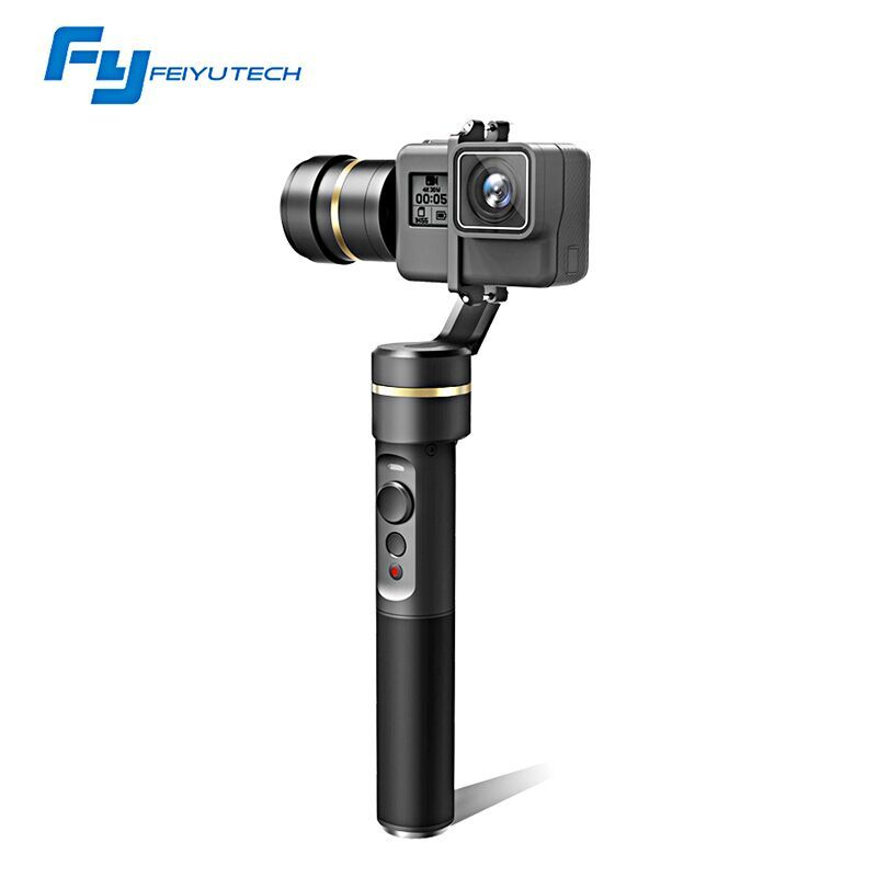 FeiyuTech Feiyu fy G5 3-axis Handheld Gimbal Splashproof For GoPro Hero 5 4 3 3+ Xiaomi yi 4k SJ AEE Action Cameras Bluetooth