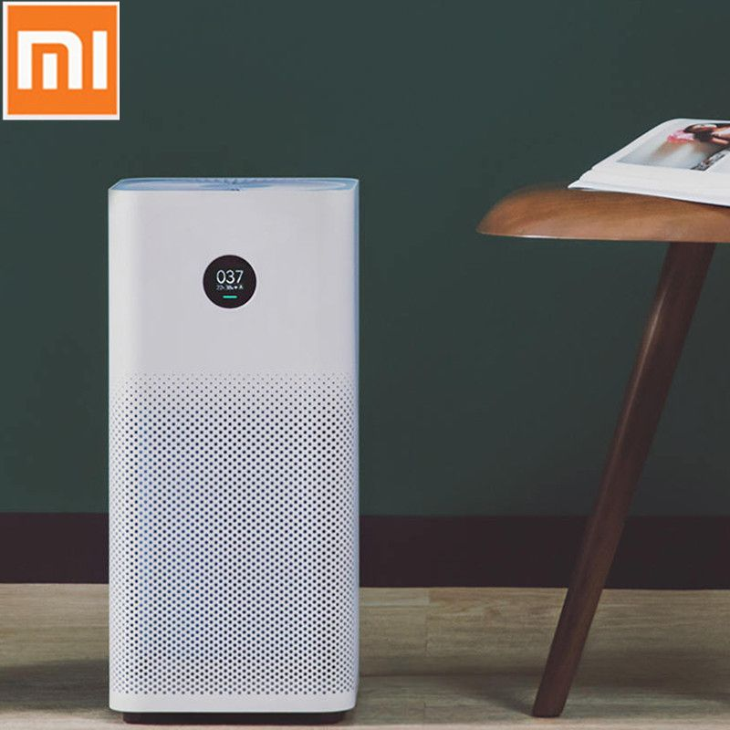 Original Xiaomi Air Purifier 2S Triple-layered Hepa Filter Air Purifiers for Home Control Low Noise Mijia Purifier Cleaner
