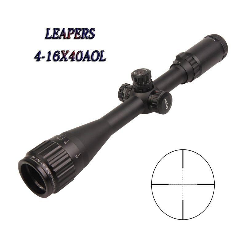 Optic Sight Leapers 4-16X40 Optical Sight Airsoft Chasse Rifles For Hunting Leapers Scope Airsoft Gun Luneta Para Rifle Caza