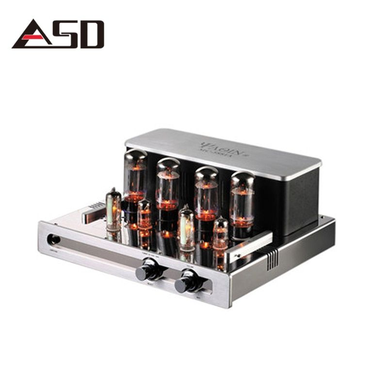 YAQIN MC-5881A Hifi Tube Amplifier Audio Stereo Vacuum Tube Amplifier Home Tube Preamp Preamplifier Tube Amp Audio