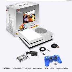 HD TV Consoles de jeux 4 GB Console de Jeu Vidéo lecteur Soutien HDMI Sortie TV Intégré 600 Classique Jeux Pour GBA/SMD/NES/FC Format