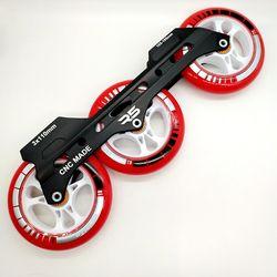 Gratis Pengiriman Sepatu Kecepatan Frame 3X110 Mm dengan Roda ABEC-9 Bearing