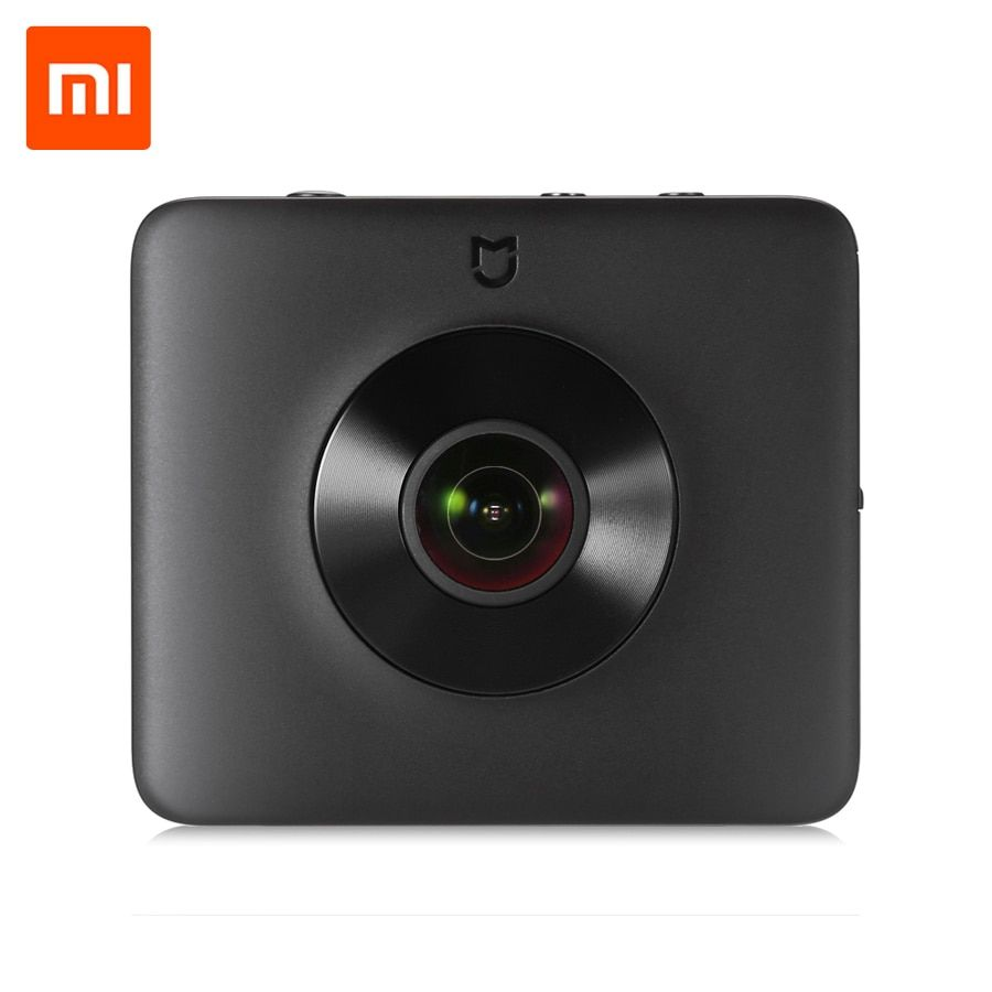 Global Version Xiaomi Mijia Sphere 360 Panorama Action Camera 23.88MP Sensor Ambarella A12 3.5K Video Recording WiFi Bluetooth
