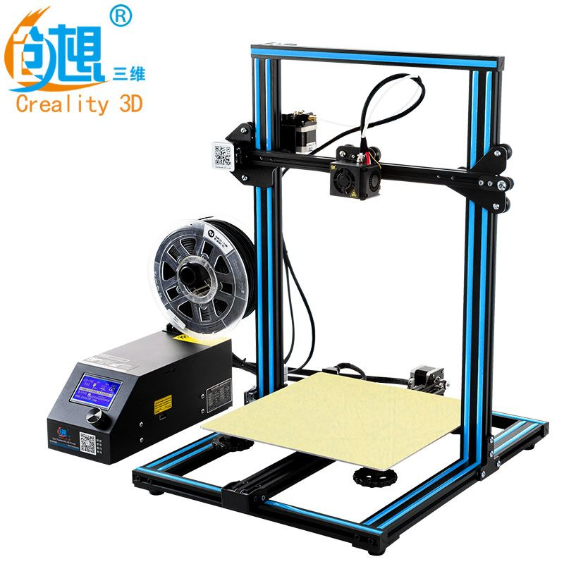 Hot 3D Printer Creality 3D CR-10S,Dua Z Rod Filament Sensor/Detect Resume Power Off 3D Printer DIY Kit