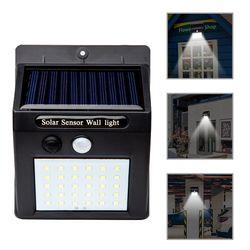 20/30/48 LED Solar light Solar Power PIR Motion Sensor Wall Light Outdoor Waterproof Energy Saving Street Garden Security Lamp