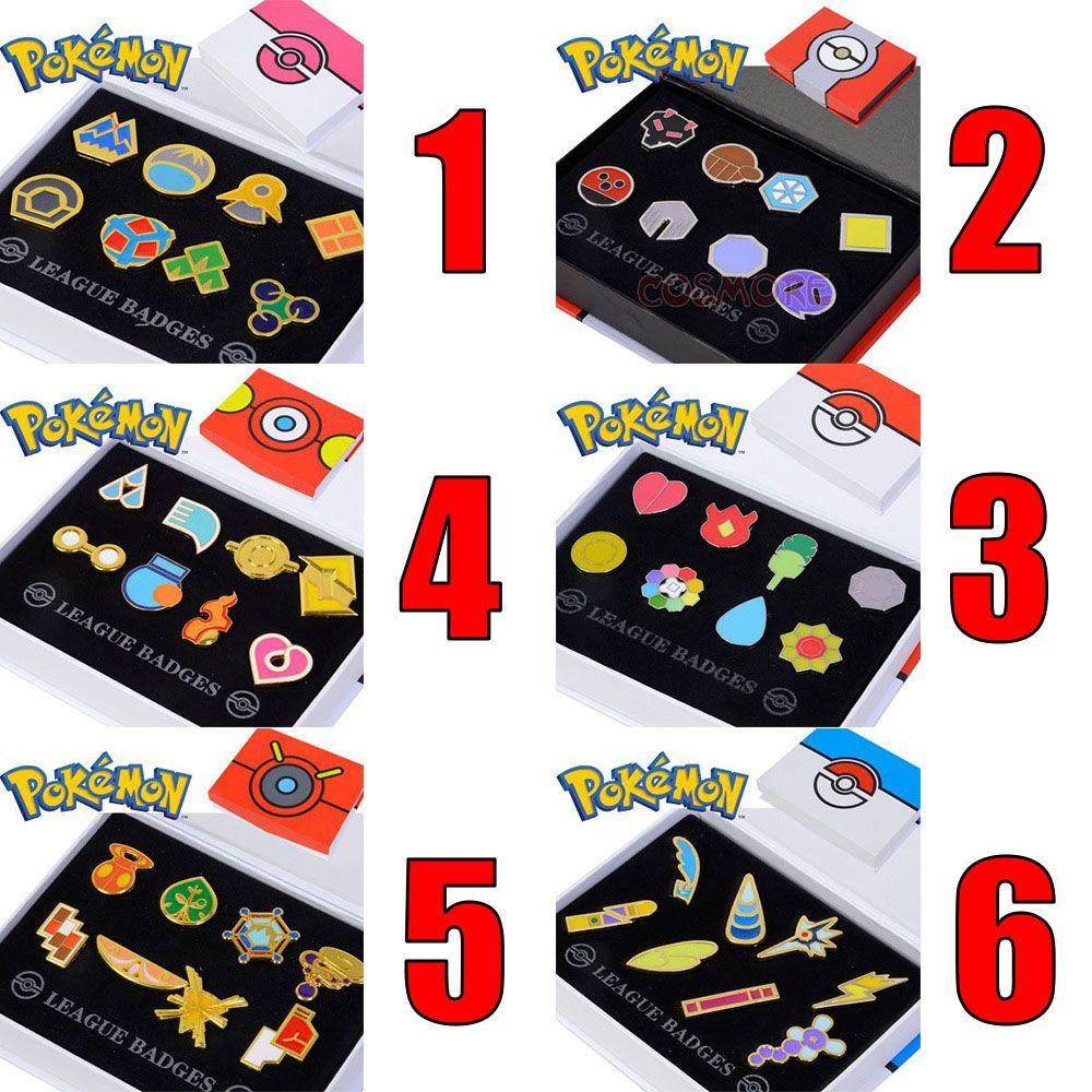 Pokemon Badge Road Museum Pin Brooch Pokemon Pokemon Kit 6 colors optional Sweet love Prom Fashion Accessories