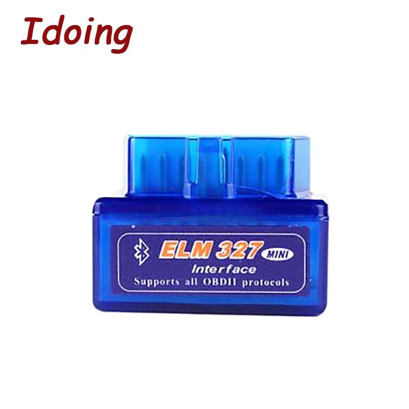 Outil de Diagnostic de véhicule imaking ELM 327 V1.5 Bluetooth OBD2 OBD-II ELM327 Scanner d'interface de voiture fonctionne pour Android