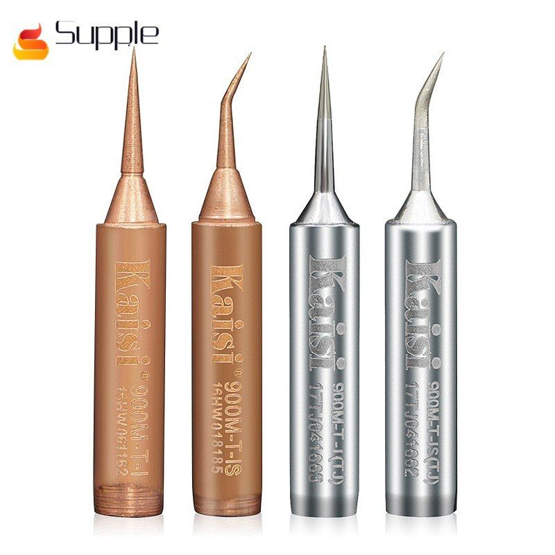 Supple Flying line Soldering iron tip special Straight tip and Curved tip welding iron head for mobile phone electronic repair