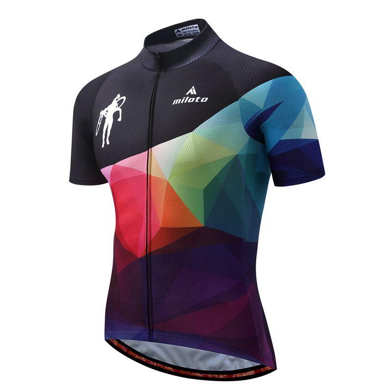 MILOTO Vélo Équipe Pro Cycling Jersey Ropa Ciclismo 2018 vtt Vélo Vélo Vêtements D'été Vélo Maillot Chemise Maillot Ciclismo