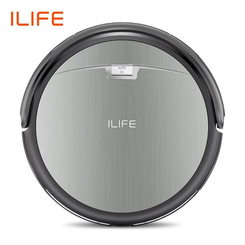 ILIFE A4s Robot aspirateur puissant aspiration pour tapis fin & sol dur grande poubelle fonction Miniroom Recharge automatique