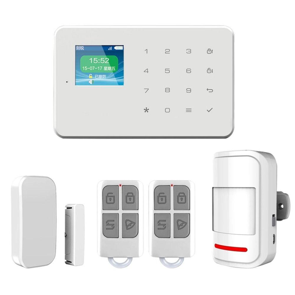 Secrui-G18 Wireless Home GSM Security Alarm System DIY Kit APP Control With Auto Dial Motion Detector Sensor Burglar AlarmSystem