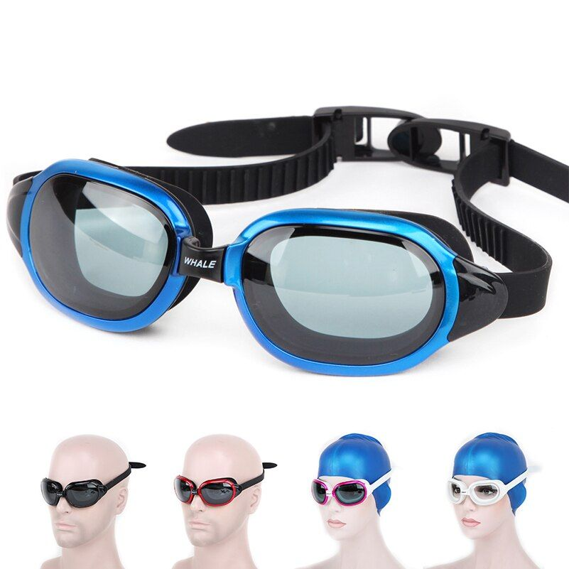Professional brands Waterproof silicone glasses swim Eyewear Anti-Fog UV men women goggles cf8600 with box free shipping