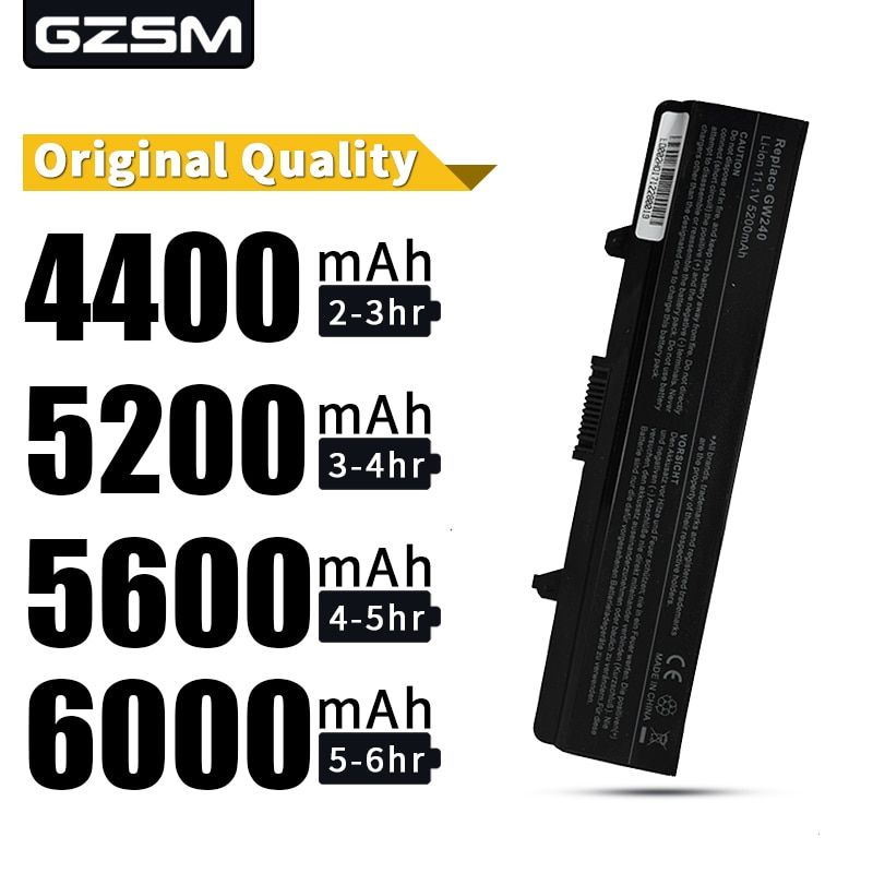 HSW laptop Battery For Dell rn873 1525 1526 1545 1546 battery for laptop GW252 GW240 GP952 PP42L PP29L PP41L K450N D608H battery
